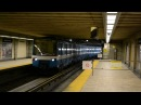 MONTREAL METRO MR-63 ACTION AT LONGUEUIL STATION