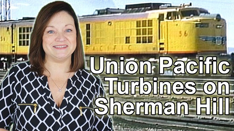 See Mighty Union Pacific Turbines Battle Up Sherman Hill