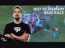 W33 vs Lithium Base Race