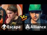 Escape vs Alliance - [MUST WATCH!] - Dota 2 6.88