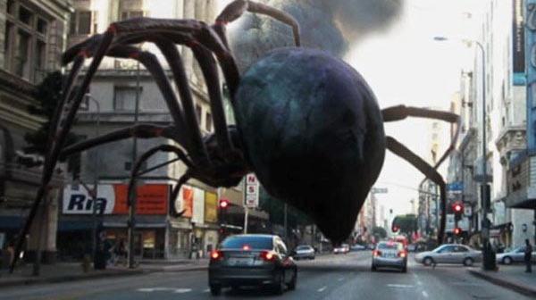 Подборка фильмов ужасов про пауков  ????