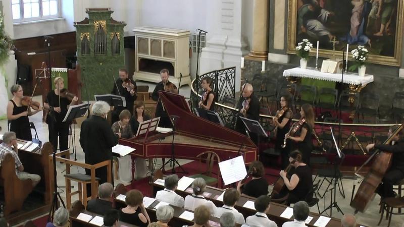 1053 J. S. Bach - Harpsichord Concerto No.2 in E major, BWV 1053 - Lutheránia Zenekar [Kamp Salamon]