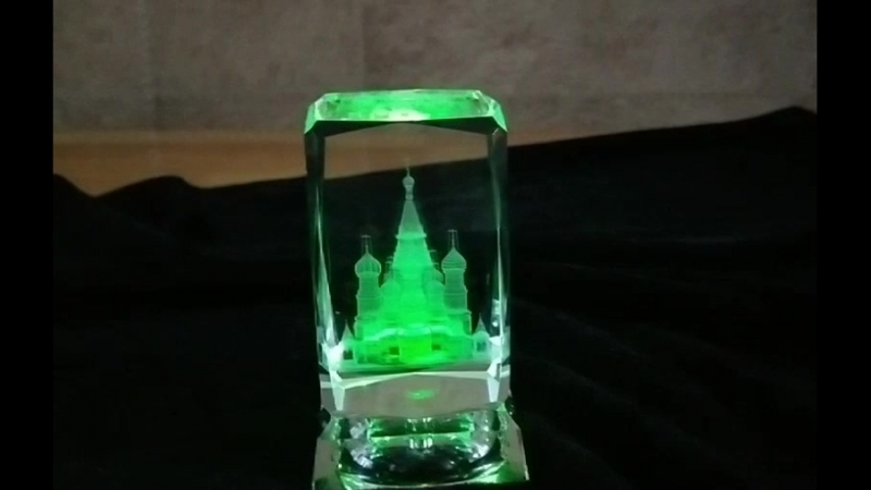 3D Inner Carving Orthodox Church Saint Basil's Cathedral