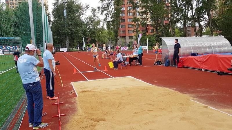 Елена Ермолина - прыжок в длину СпидиПентатлона Гераклиады2018