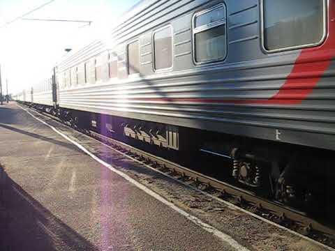 поезд 067Ы Абакан — Москва