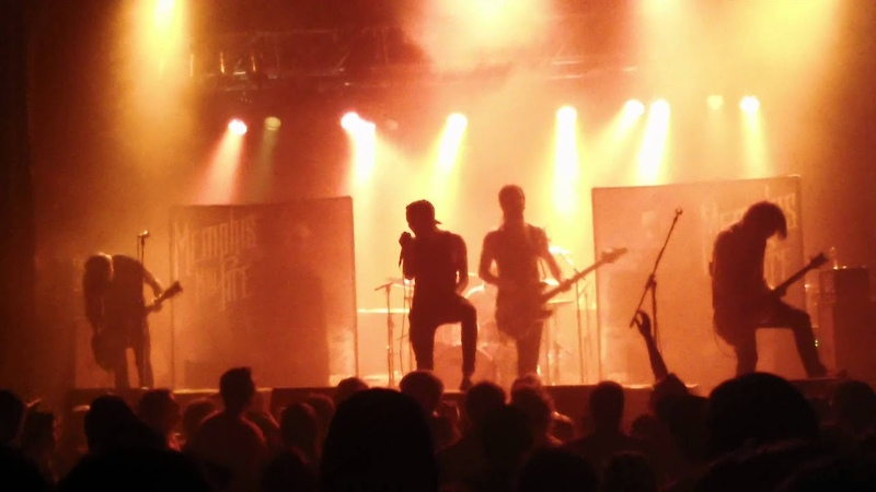 Memphis may fire, live, The Haunted , Montreal, 12-01-2012, at La tulipe,