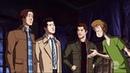 'СкубиЕстественное' Кастиэль находит парней в мире Скуби-Ду | Сверхъестественное 13 сезон 16 серия