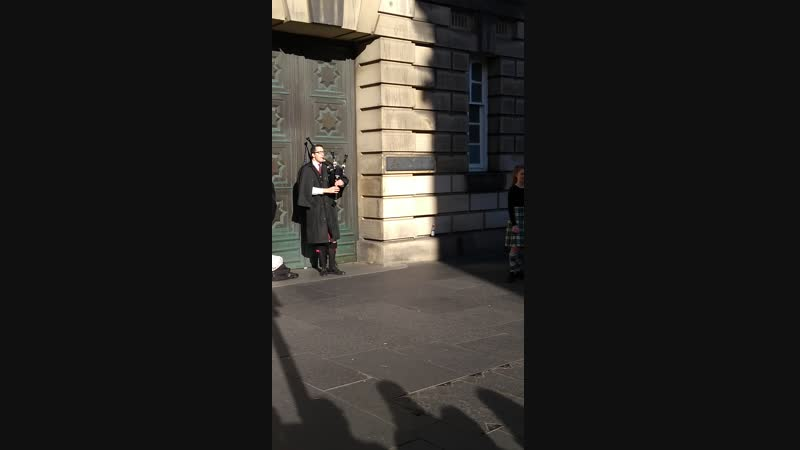 Эдинбург. Волынка и шотландский танец. Часть 1