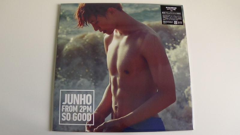 Unboxing JUNHO (2PM) 3rd Japanese Mini Album SO GOOD (Limited LP Edition)
