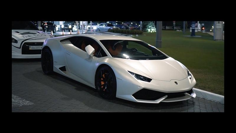 Lamborghini Huracan, Заруба с GT-R 700, GT-R 1000 и E63 1000 сил!