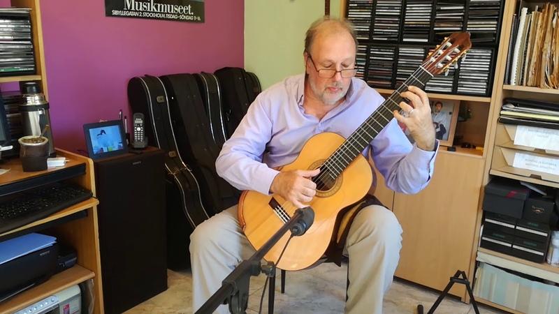 Fernando Sor - Minueto Op. 11 Nº 6 - (Nº19 Según D. Prat) Enrique Bocaccio Guitarra