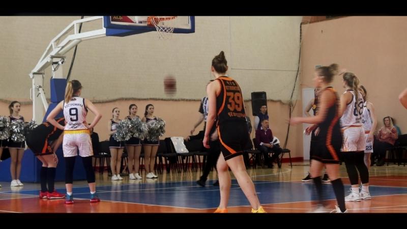Студенческая суперлига по баскетболу среди женских команд Финал 8