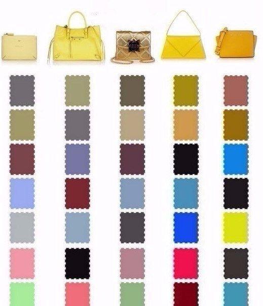 Какого цвета туфли подобрать к сумочке? ? ?