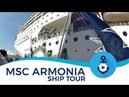 MSC Armonia Ship Tour (after Renaissance)