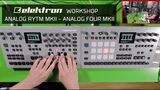 Workshop Elektron Analog RYTM MK2 y Analog Four MK2