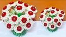 New Guldasta/flower vase from plastic bottle Foam flower at home|Best out of waste|DIY Flower pot
