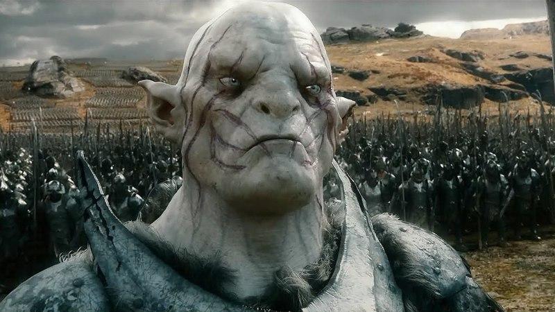 Азог приказывает Болгу созвать легионы   Хоббит: Битва пяти воинств