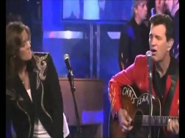 Love Me Tender Chris Isaak and Brandi Carlile (Akileze Studios)
