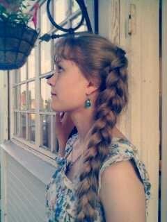 Очень длинная коса 7 фотография