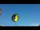Молодую пару во время катания на парашюте в Джубге швырнуло на электрические провода