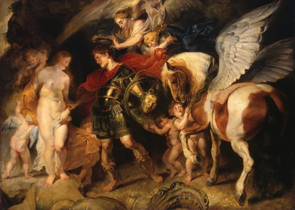 Мифы Древней Греции в живописи: Персей и Андромеда, Пандора и Минотавр.