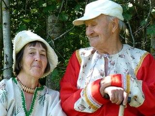 Семья Жуковых. Раиса Александровна и Иван Дмитриевич. Это те, которые начали жить изначально.
