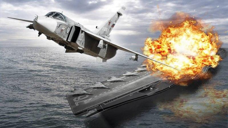 Российские ВКС уничтожили боевой корабль у берегов Сирии!