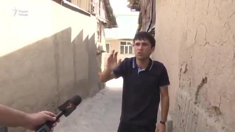 Дар Душанбе чавони маска пуш пайдо шуд