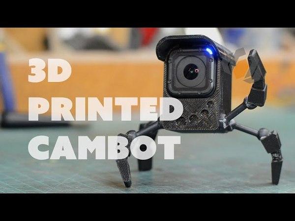 Prop: Shop 3D Printing the GoPro Camera Robot
