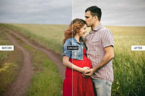Пресет Для беременных для lightroom