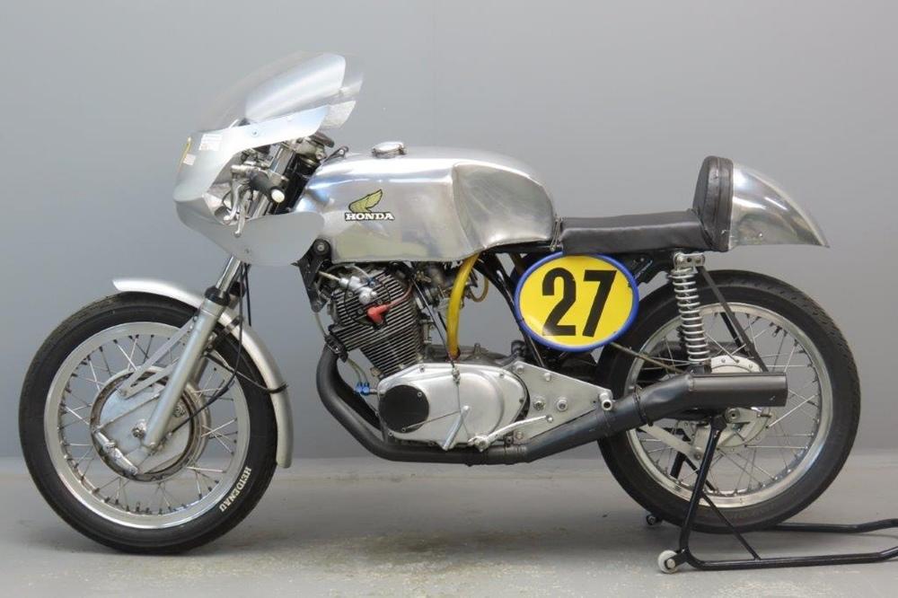 Мотоцикл Fick-Honda CB72 500 1963