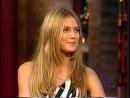 Heidi Klum at Bill Cosby Show (2000)