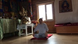 Самдан - лама дает практику пранаяма-йоги. Один из верных путей к физическому и ментальному здоровью