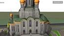 Инженерия невидимка BIM и 3D мэппинг икон в храме Сретенского монастыря