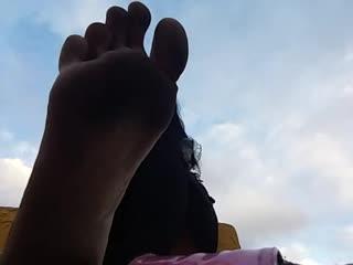Very Dirty Feet Foot Fetish Sandal Play Really Filthy Feet!