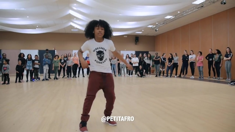 Petit Afro Presents AfroDance One Man Workshop Part 1 Eljakim Video
