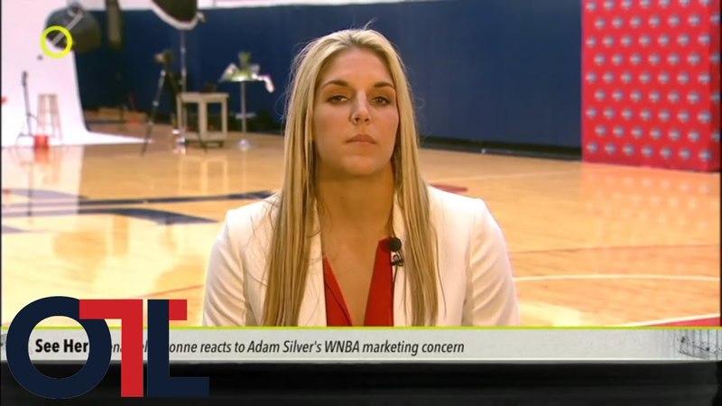 Elena Delle Donne: NBA and Adam Silver don't give proper support to WNBA | Outside the Lines | ESPN
