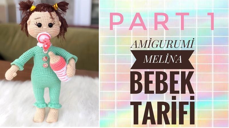 Amigurumi MASUM MELİNA BEBEK Tarifi ( newborn baby free pattern) (English subtitles)