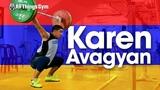 Karen Avagyan (81.6kg, Armenia, 17 yo) Training Session before Youth World Championships