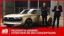Peugeot e Legend Concept INTERVIEW les concepteurs Gilles Vidal et Matthias Hossann