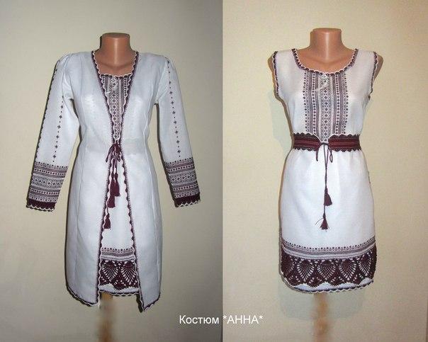 Вишивка блузки хрестиком 36