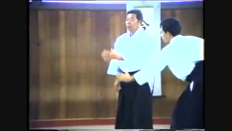 Shiho nage Морихиро Сайто Сенсей
