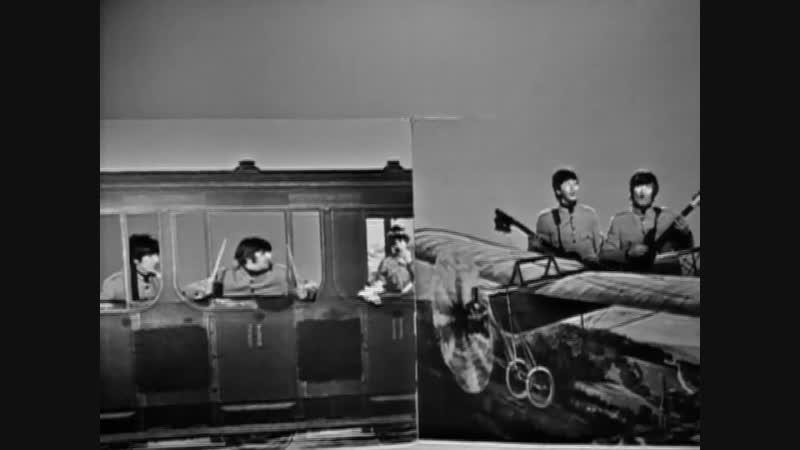 The Beatles - Day Tripper (Promotional Video, TwickenHam Film Studios, 1965.)