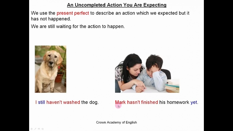 [Crown Academy of English] Present Perfect tense | Part 2 - Use and meaning