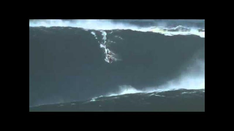 Серфинг.Новый рекорд Гаррета Макнамары-волна 30 метров