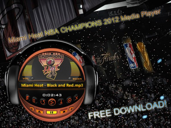 Miami Heat NBA CHAMPIONS 2012 Media Player