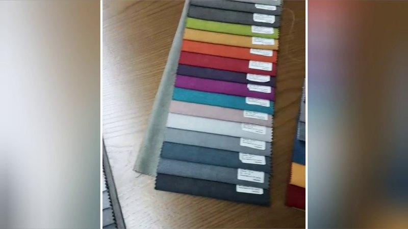 Выбираем ткань для изготовления мягкой мебели для гостиной в проект Битва интерьеров