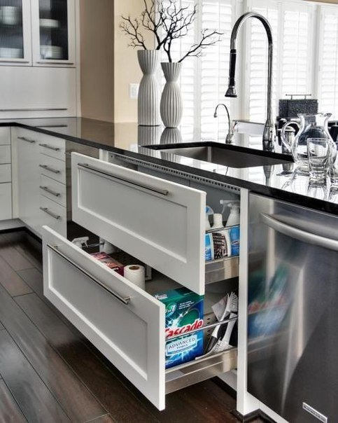дизайн кухни 8 кв.м фото с холодильником и антресолями
