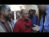 LB.ua: Активисты прорываются в комнату пыток Фастовского райотдела