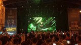 J Balvin &amp Willy William - Mi Gente (Hardwell &amp Quintino Remix) UEFA Championship Festival Kiev